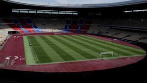 Vista general del Estadio La Cartuja de Sevilla.