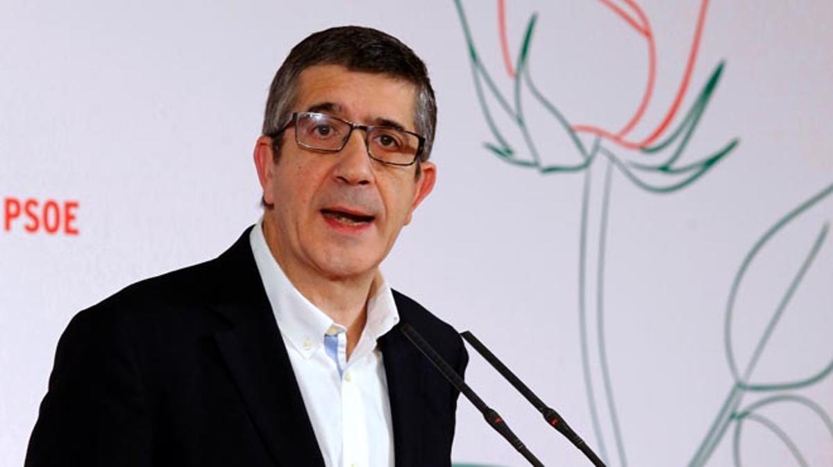 Patxi López anuncia su candidatura a las primarias del PSOEen la Fundación Diario Madrid.