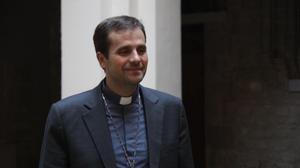 Xavier Novell, obispo de Solsona.