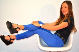 """La goleada"" de 13 TV ya tiene a su reportera sexy"