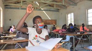 En Malise reportaron 27 ataques a la educación y 500 amenazas a maestros y escuelascuando los centros educativos reabrieron en junio.