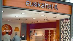 Una oficina de la compañía Euskaltel.