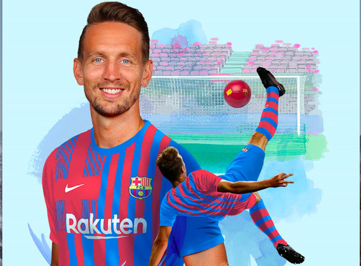 Luuk de Jong, el nuevo delantero del Barça.