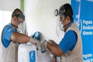 Personal de la ONU atiende la ciris causada por la COVID-19.