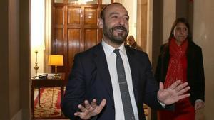 Jordi Cañas en una imagen de archivo del 2014.