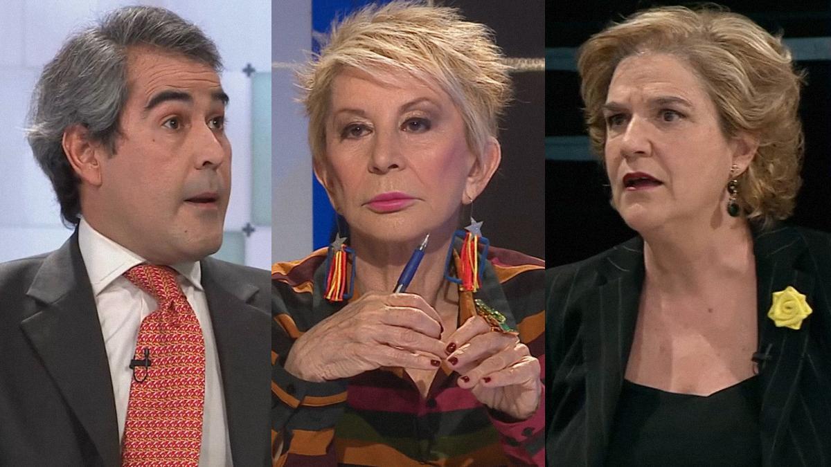 Rahola i Karmele, contra García-Juez a TV3: «Fas apologia del franquisme»