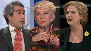 """Rahola y Karmele estallan contra García-Juez en TV3: """"Haces apología del franquismo"""""""
