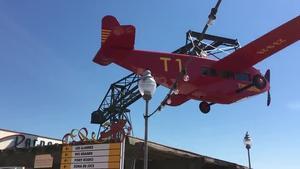 L'avió del Tibidabo torna a volar
