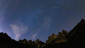 Gemínidas iluminan Montserrat