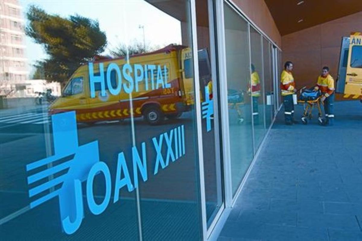 El Hospital Joan XXIII, de Tarragona.