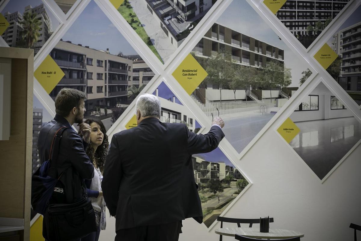 Imagen de archivo del salón inmobiliario de Barcelona