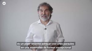 Vídeo de Jordi Cuixart desde la cárcel de Lledoners