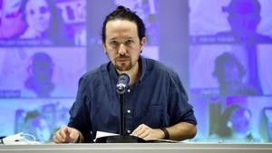 Pablo Iglesias, este 19 de septiembre ante el consejo ciudadano estatal de su partido: A Ciudadanos no le gustarán los Presupuestos, se ve la influencia de Podemos.
