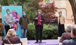 Presentación de las Fiestas de Primavera de L'Hospitalet 2021.