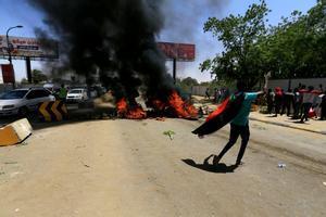 Las protestas en Sudán en medio de la transición del gobierno.