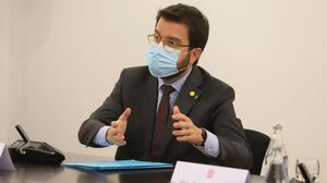 Aragonès va anticipar a Torra la petició de l'estat d'alarma