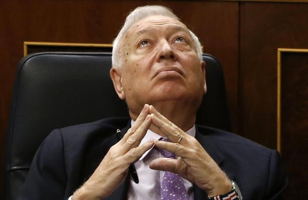 José Manuel García-Margallo, en el Congreso de los Diputados