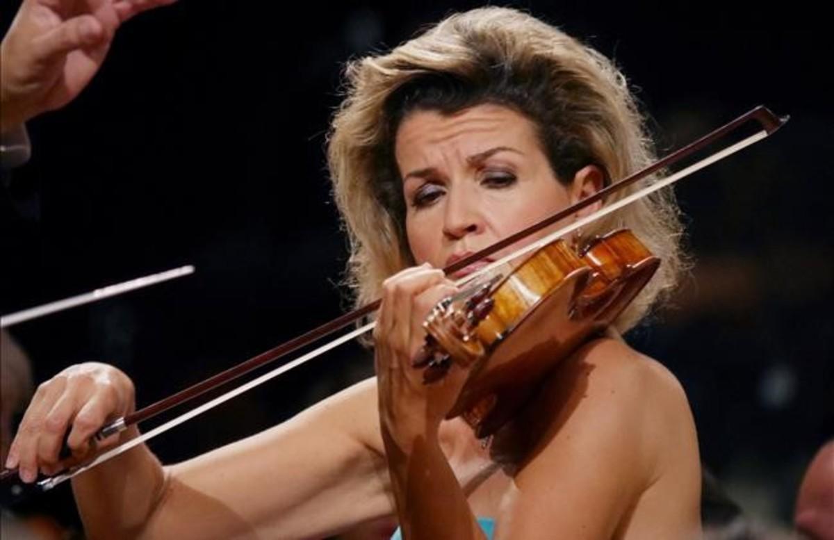 La violinista Anne-Sophie Mutter.