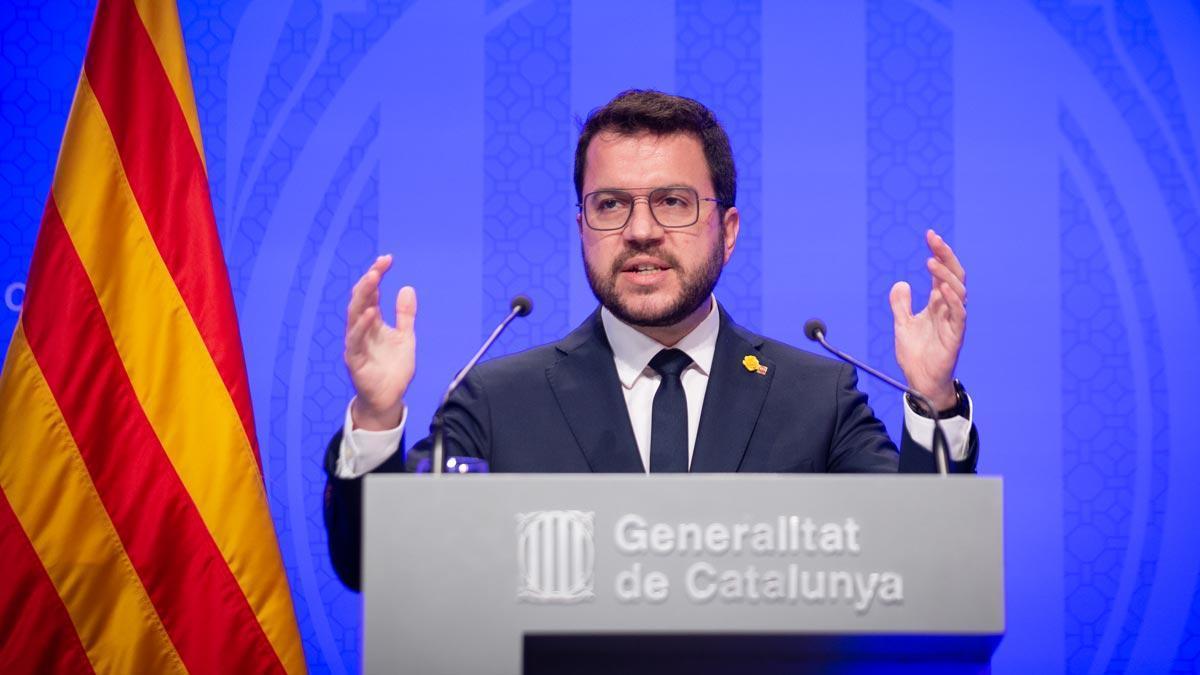 El Govern promet l'ampliació del Prat el 2030 mentre Aragonès posa dics mediambientals i demana temps