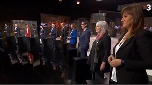 Todos contra todos: así fueron los cuatro bloques del debate de TV3