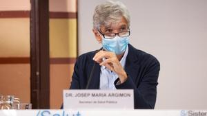 Josep Maria Argimon, secretario de Salut Pública de la Generalitat.
