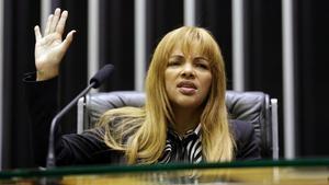 Detinguda una diputada brasilera per l'assassinat del seu marit