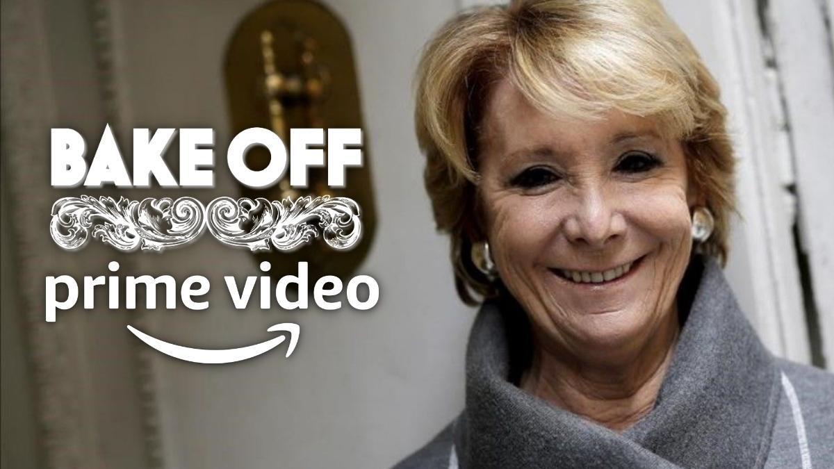 Esperanza Aguirre, concursante bomba de 'Celebrity Bake off' en Prime Video