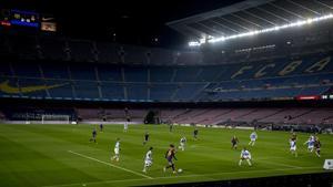El Camp Nou acogió un nuevo partido femenino con goleada del Barça por 5-0 al Espanyol.