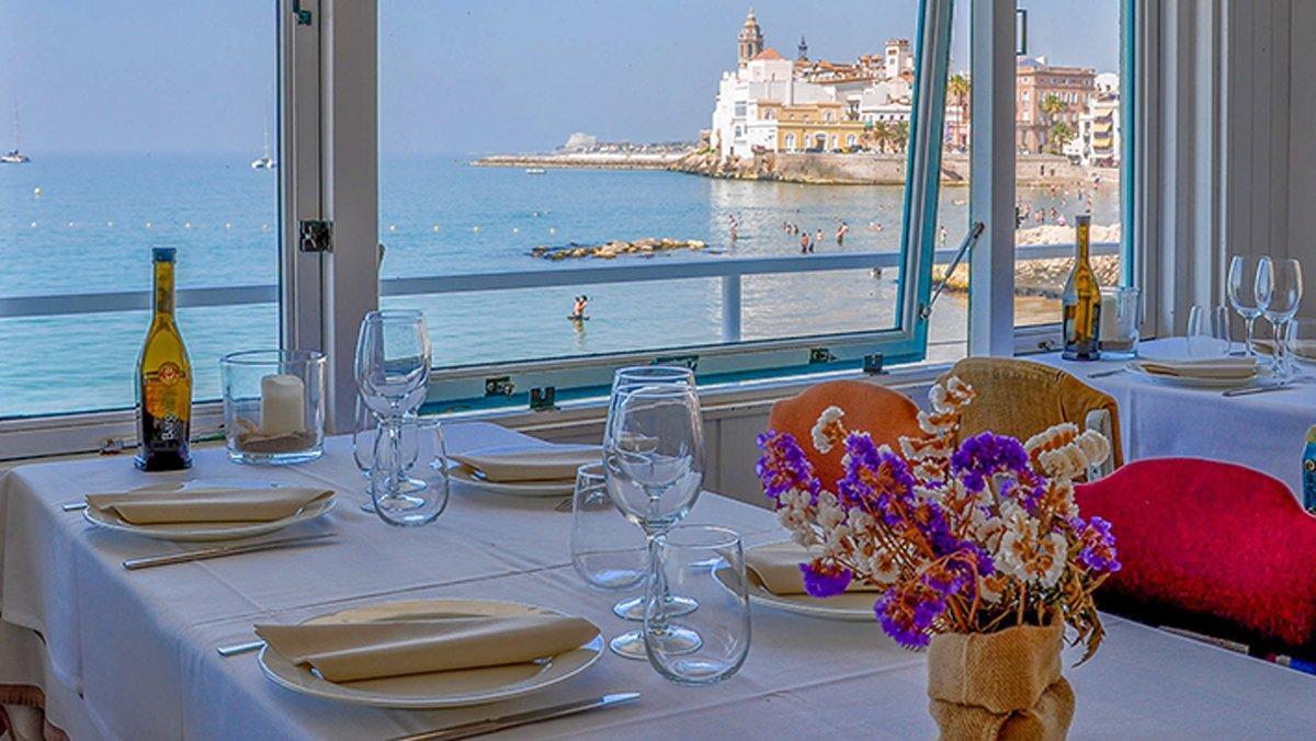 Comedor del Vivero Beach Club.