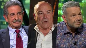 Miguel Ángel Revilla, Antonio Resines y Alberto Chicote, invitado en 'laSexta noche'