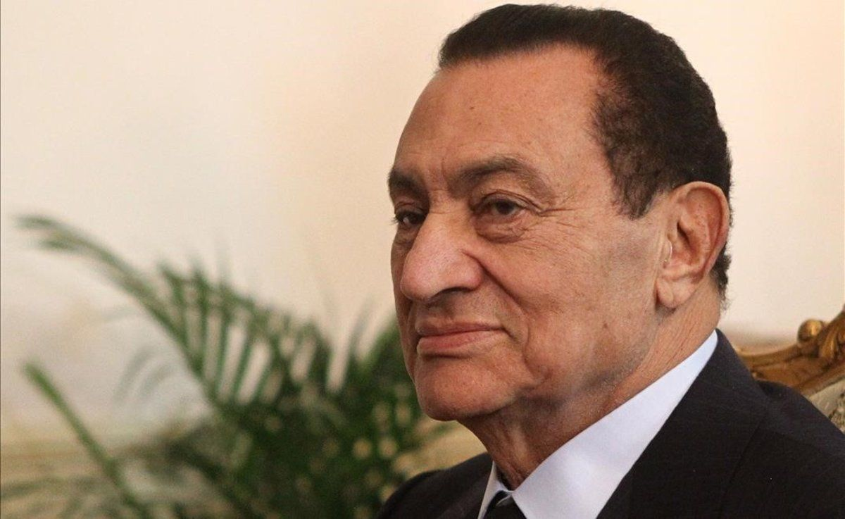 El expresidente egipcio Hosni Mubarak.