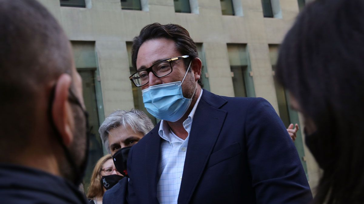 David Madí, en la Ciutat de la Justícia, en octubre del 2020.