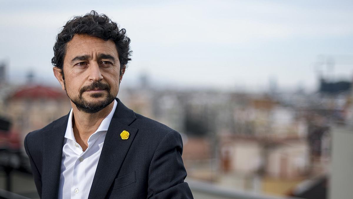 Damià Calvet, 'conseller' de Territori de la Generalitat.