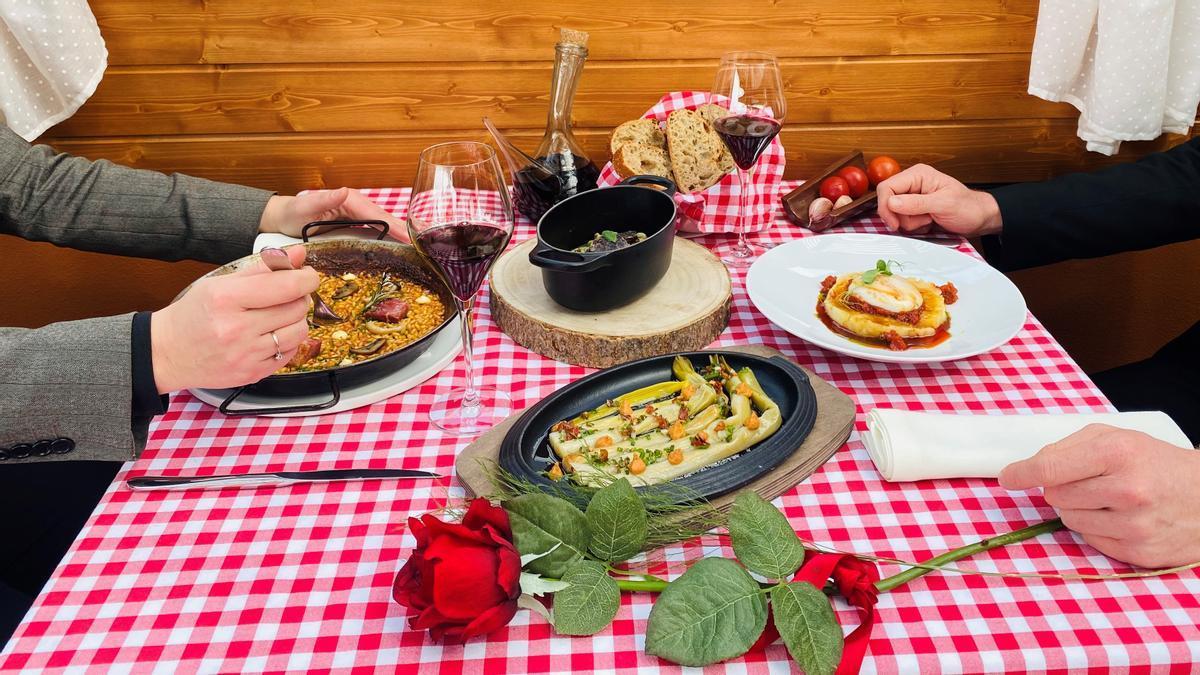 Quatre bons menús per celebrar Sant Jordi