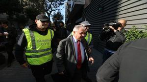 Reunión de Andreu Viloca, tesorero de Convergencia,con hasta siete empresarios, todos imputados en la Operación Petrum.