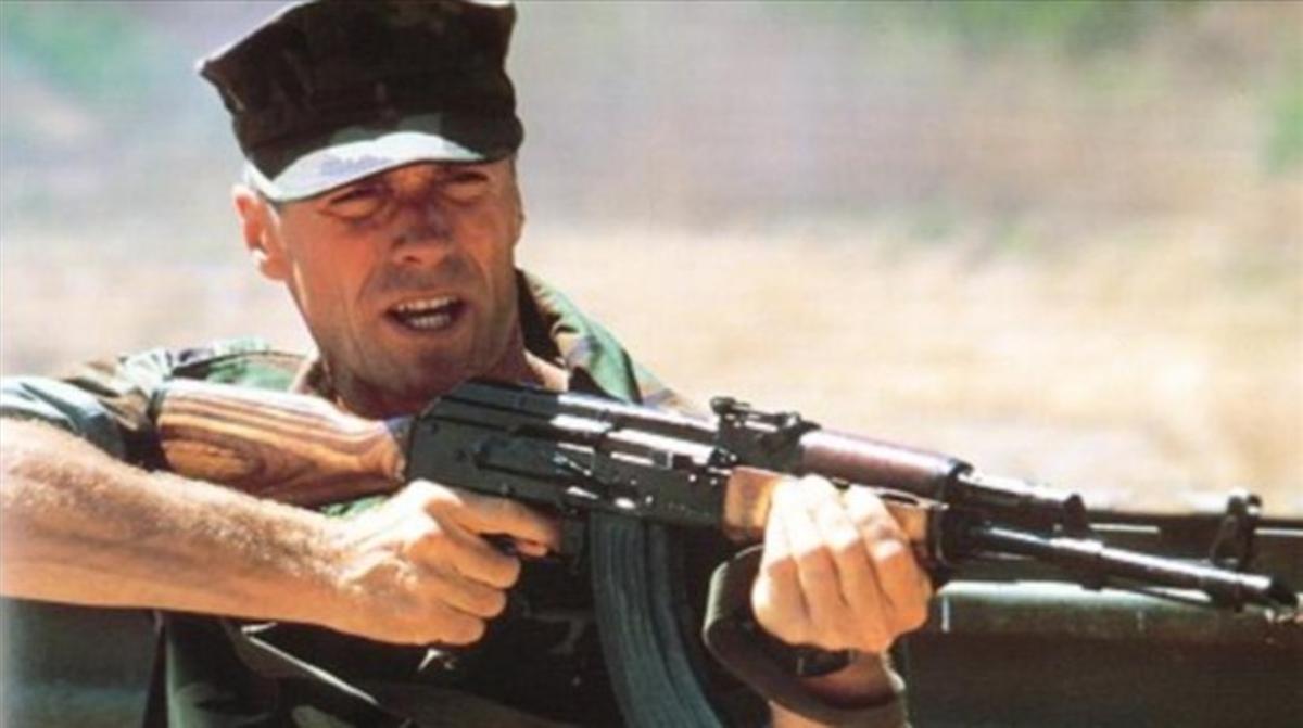 Clint Eastwood, en la película 'El sargento de hierro'.