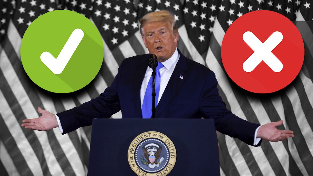 'FACT-CHECK'. Ponemos a prueba el discurso de Donald Trump.