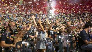 Una imagen del público durante la actuación de Xiula, en el festival Petits Camaleons, el pasado 25 de septiembre.