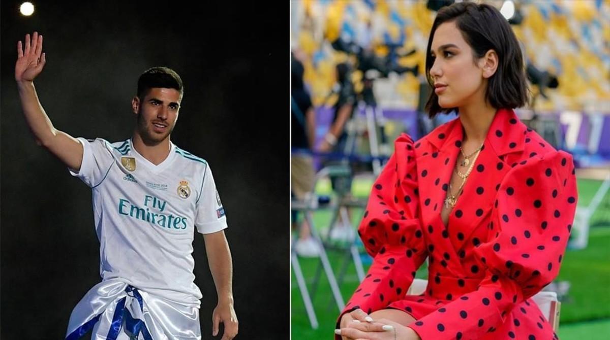 Marco Asensio i Dua Lipa: amor de campionat
