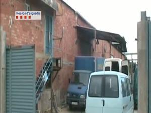 Dos detenidos en Ripollet por esclavizar a los trabajadores de un taller