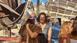 La exprincesa de Preslav y musa de Valentino Rosario Nadal coincidió con Sybilla en el mercado de XTant.