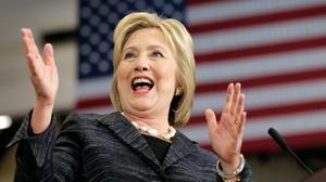 Trump y Clinton se imponen en una nueva ronda de primarias en EEUU.