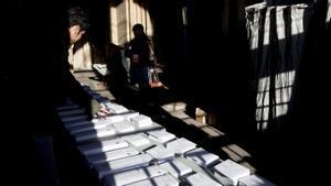 Colegio electoral en las elecciones autonómicas del 21 de diciembre de 2017
