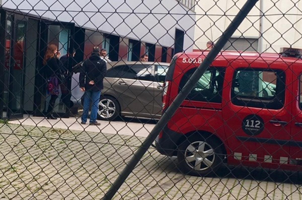 Operación anticorrupción en la sede de Bombers de Sant Boi.