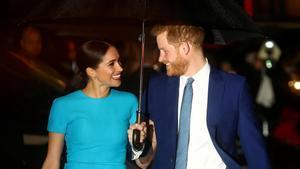 Los Duques de Sussex, el pasado mes de marzo en Londres.