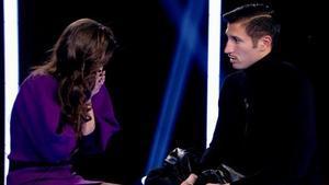 Gianmarco deixa descol·locat Adara amb el seu enigmàtic comiat: «Aquí es veu tot»