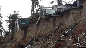 Este es el segundo derrumbe que ha cobrado múltiples vidas en Nicaragua a causa del huracán Iota.