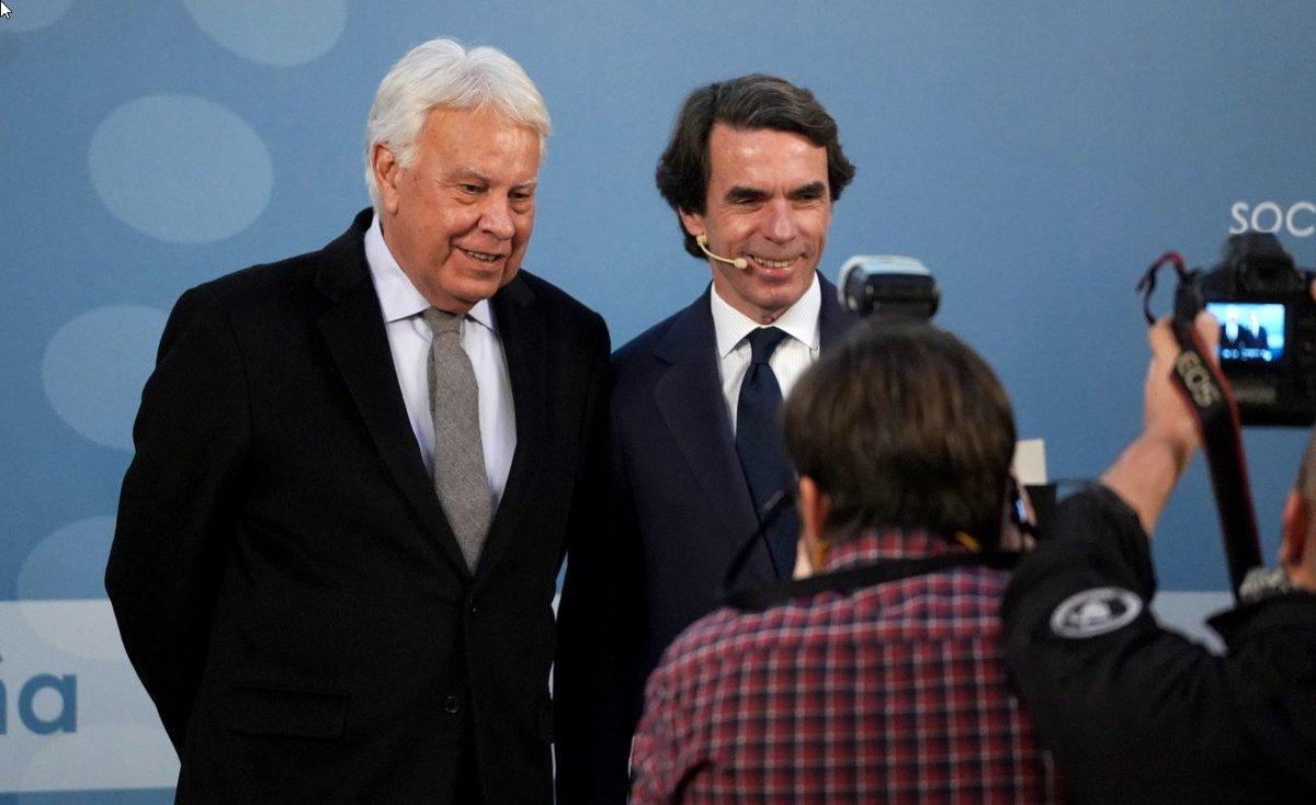 Aznar Y González Debaten Sobre España