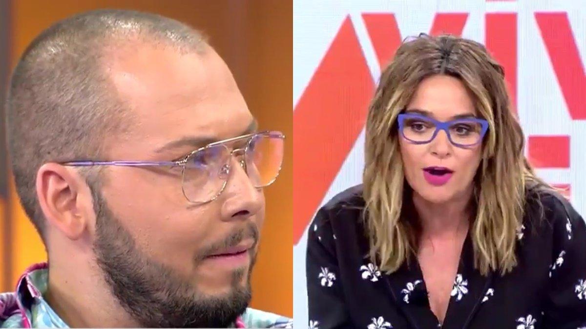 """Toñi Moreno desmonta a Avilés, que se inventa una información de María Teresa Campos: """"Eres un mentiroso"""""""