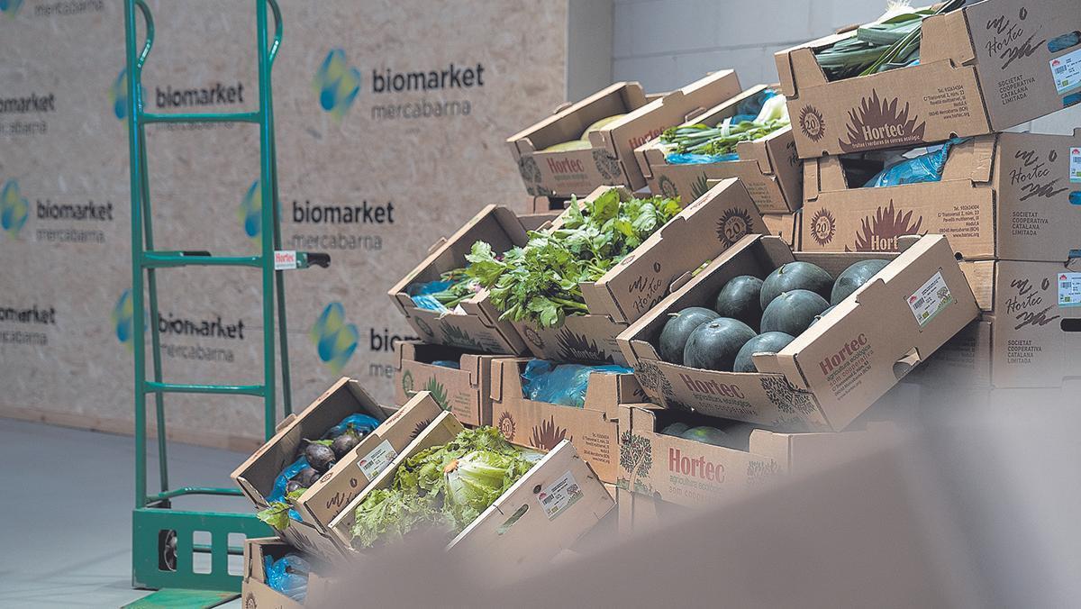 Biomarket, el primer primer mercado mayorista de alimentos ecológicos del país.
